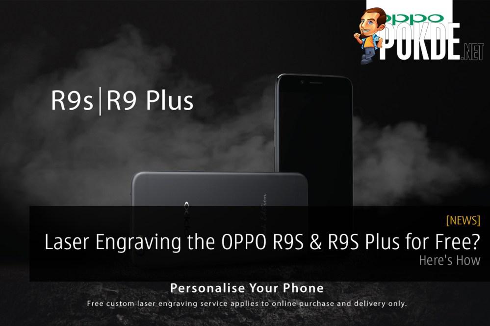 OPPO R9S Plus Laser Engraving