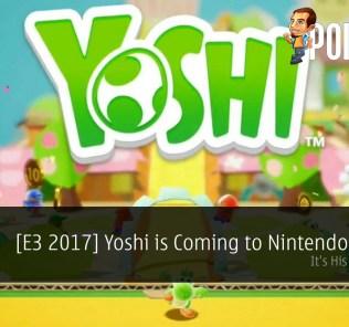 yoshi nintendo switch E3 2017 Nintendo Treehouse
