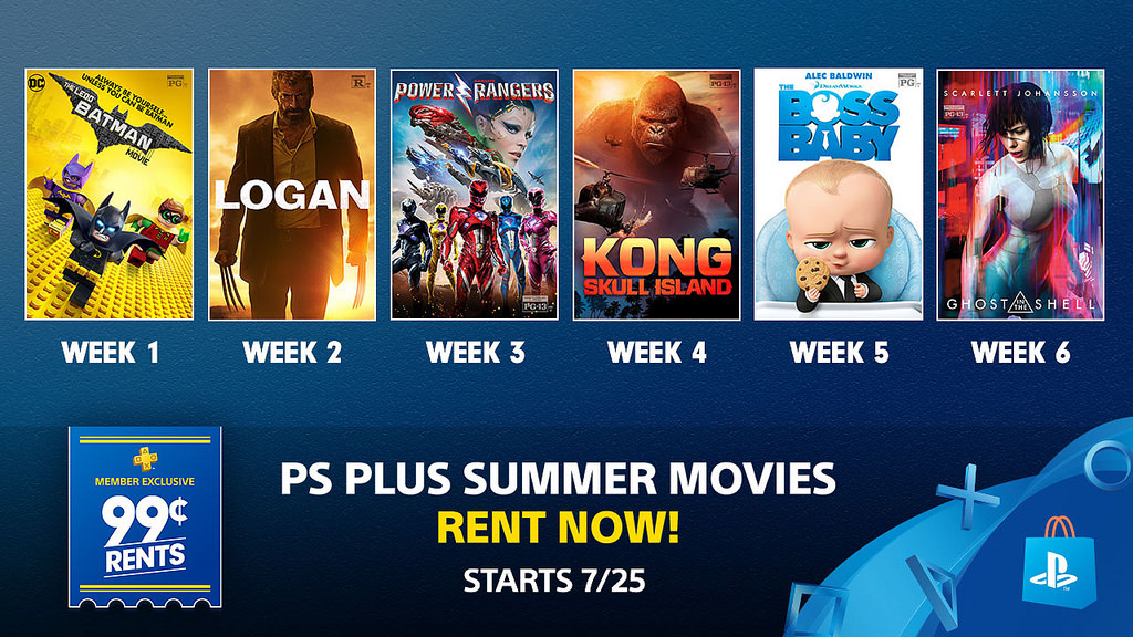 PS Plus August 2017 US EU