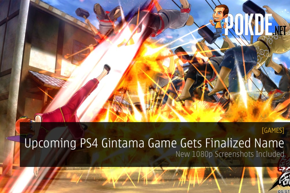 Upcoming PS4 Gintama Game Gets Finalized Name