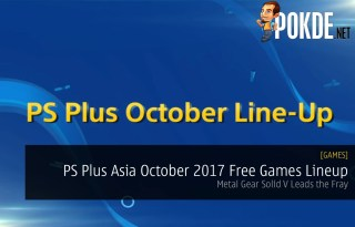PS Plus Asia October 2017 Free Games Lineup