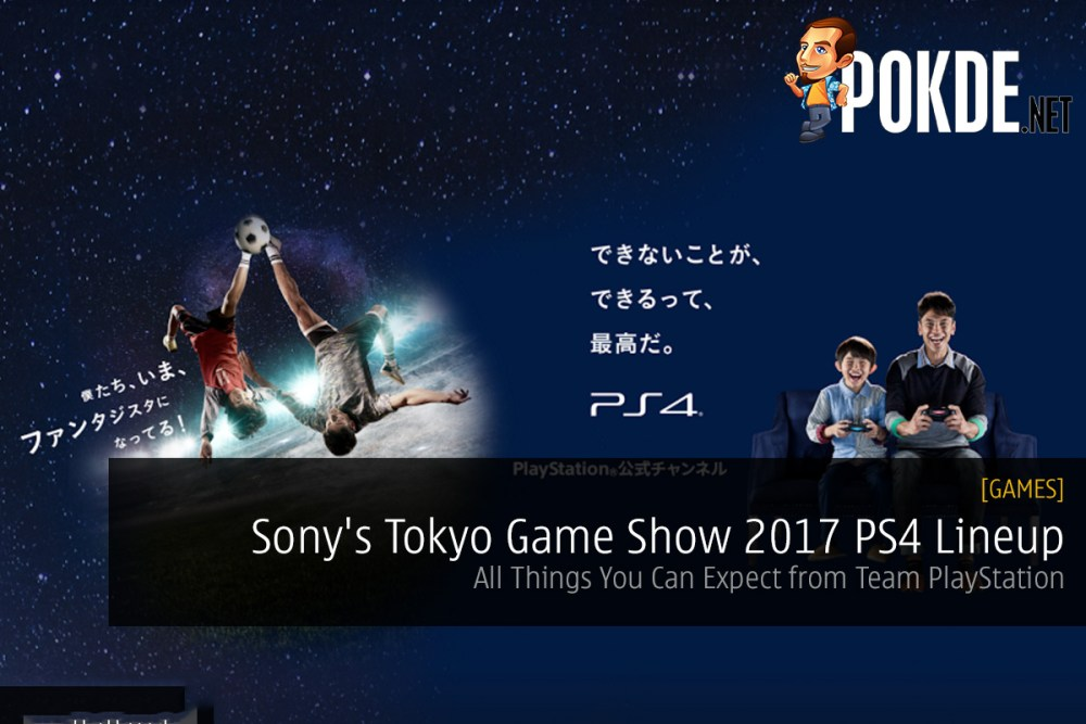 Sony PlayStation 4 Tokyo Game Show 2017 TGS 2017