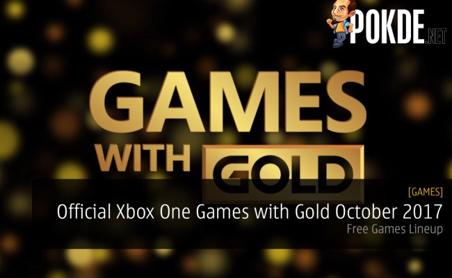 Official Xbox One Games With Gold October 2017 Free Games