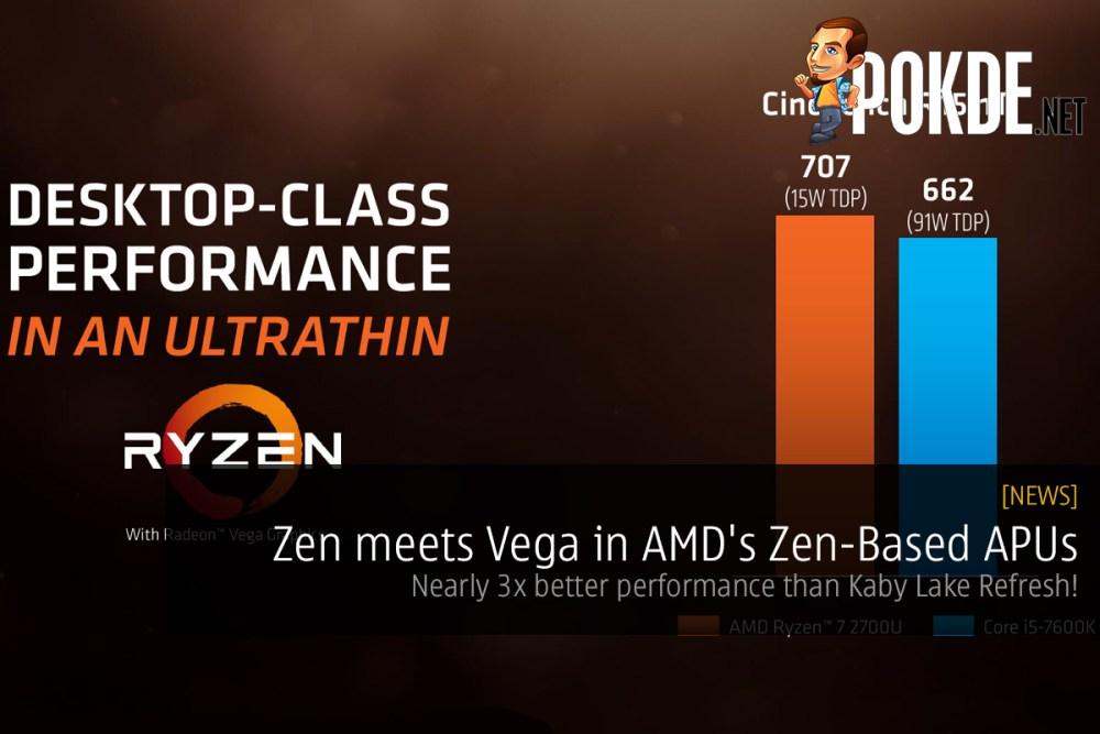 Zen meets Vega in AMD's Zen-Based APUs
