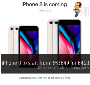 iPhone 8 to start from RM3649 for 64GB variant; so expensive Apple is offering you help to buy it 31