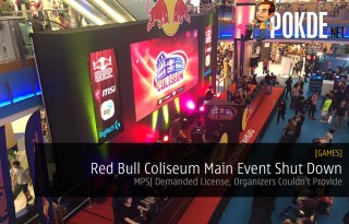 Red Bull Coliseum Main Event Shut Down MPSJ