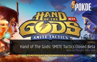 Hand of the Gods: SMITE closed beta ps4 xbox one
