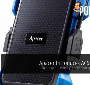Apacer Introduces AC631 HDD - USB 3.1 Gen 1 Military-grade Shockproof Drive! 25