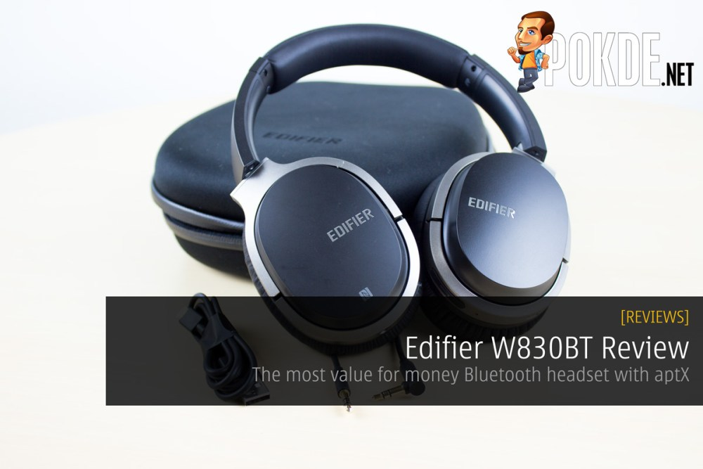 0dc1a50d33b Edifier W830BT Review – The most value for money Bluetooth headset with aptX