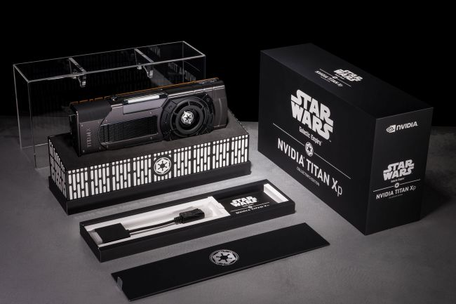 NVIDIA Unveils New Star Wars-Themed Titan Xp GPU