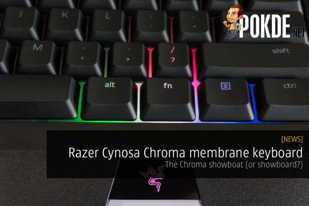 Razer Cynosa Chroma membrane keyboard review