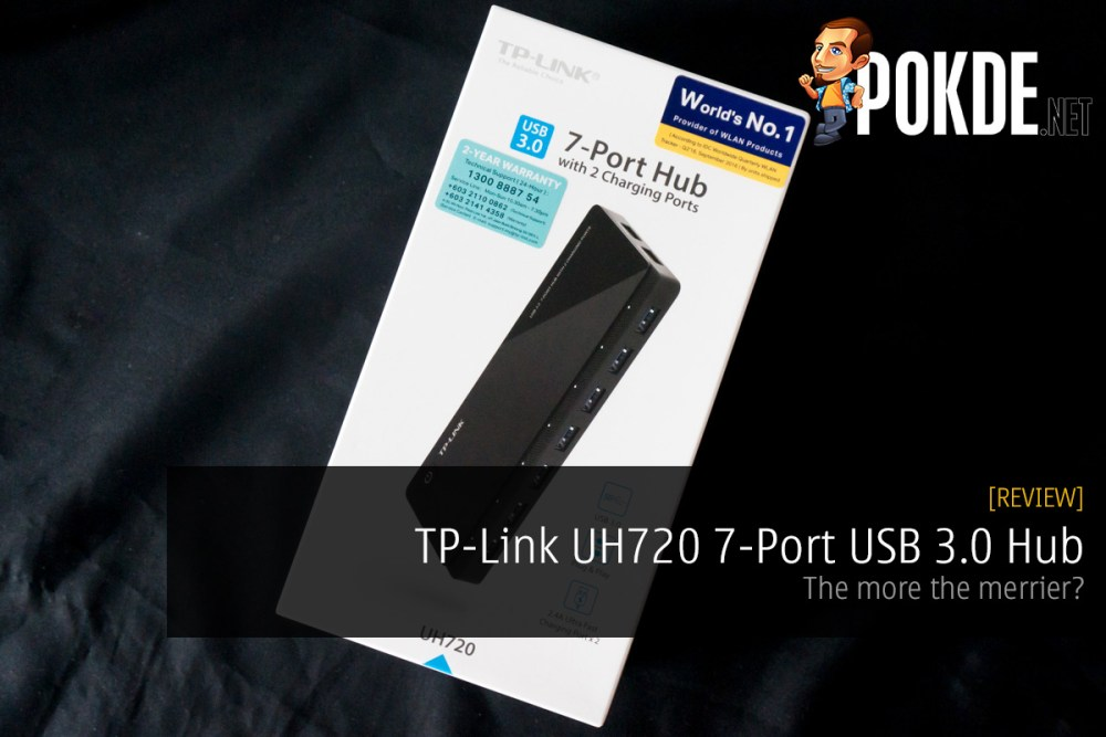 Tp Link Uh720 7 Port Usb 3 0 Hub Review The More The Merrier Pokde