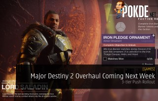 Major Destiny 2 Overhaul Coming Next Week