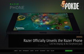 Razer Officially Unveils the Razer Phone