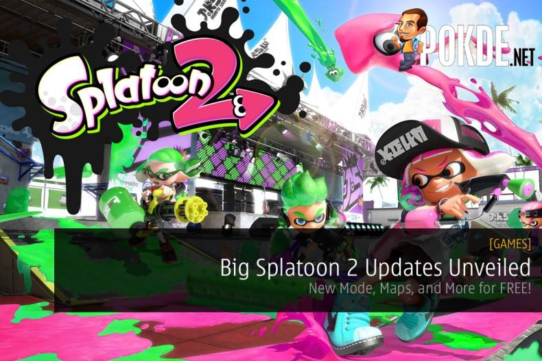 Big Splatoon 2 Updates Unveiled