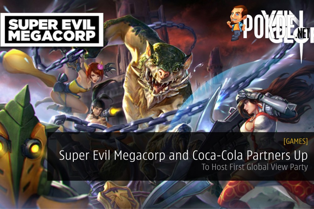 Super Evil Megacorp and Coca-Cola Partners Up For Vainglory