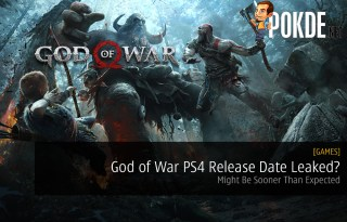 God of War PS4 Release Date Leaked?