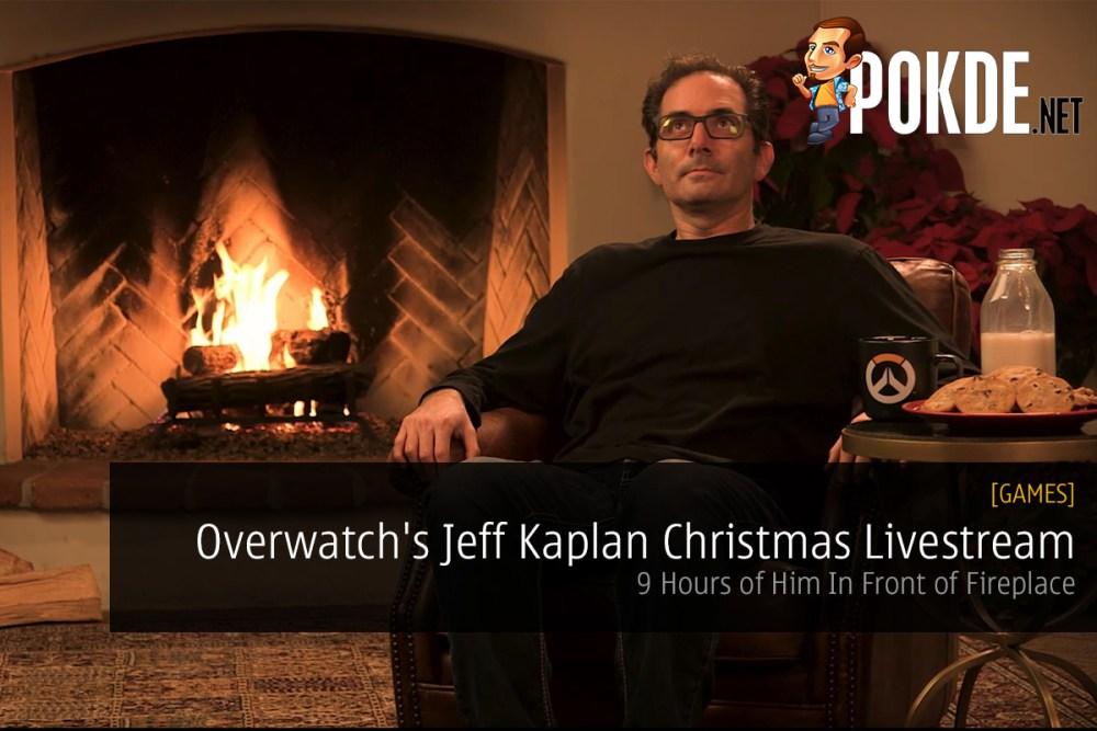 Overwatch Jeff Kaplan Christmas Livestream