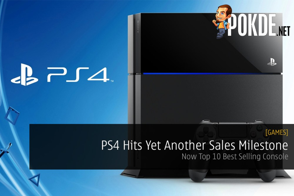 PS4 Hits Yet Another Sales Milestone; Now Top 10 Best Selling Console