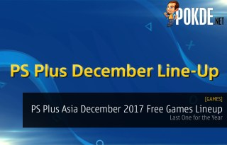 PS Plus Asia December 2017 Free Games Lineup