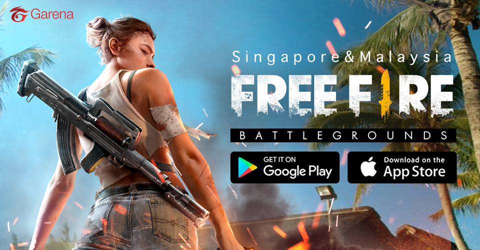 Garena Announces Free Fire Battlegrounds Pubg Like Battle Royale