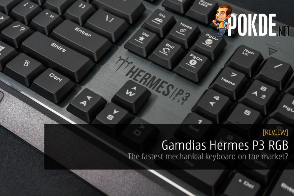 Gamdias Hermes P3 RGB mechanical gaming keyboard review