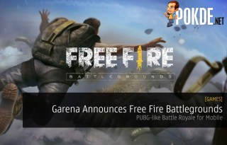 Garena Announces Free Fire Battlegrounds