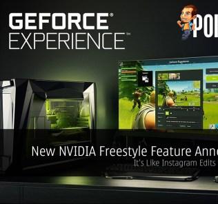 New NVIDIA Freestyle Feature Announced