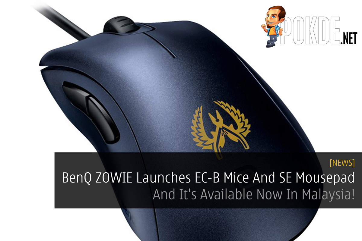 BenQ ZOWIE Launches EC-B Mice And SE Mousepad - And It's