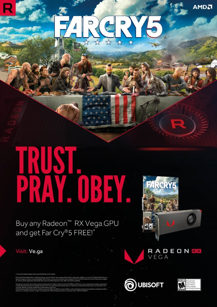 AMD Radeon RX Vega Customers Will Be Getting Far Cry 5 For FREE 23