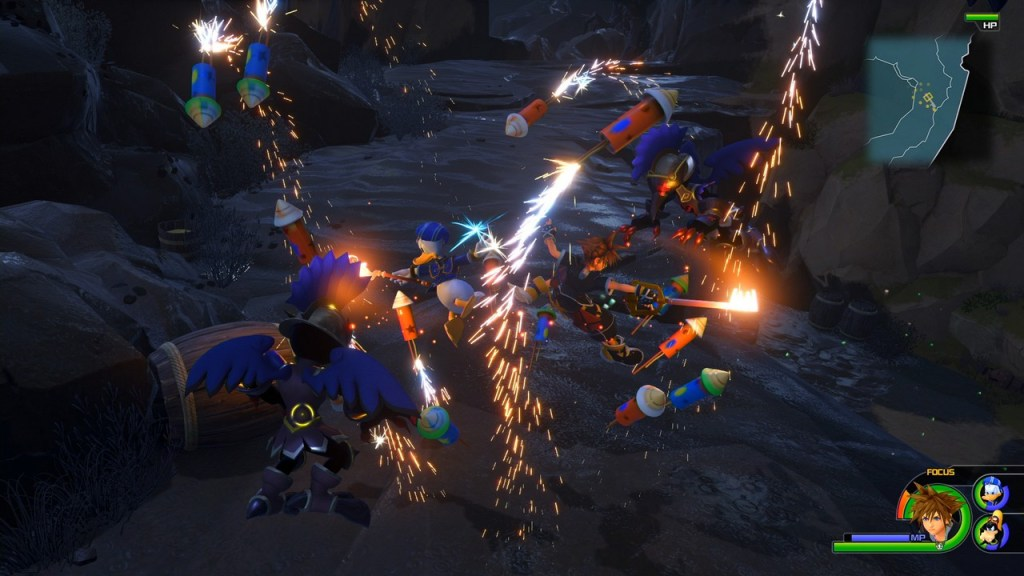 New Kingdom Hearts 3 Footage Surfaced