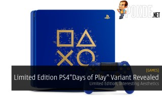 "Limited Edition PlayStation 4 ""Days of Play"" Variant Revealed"