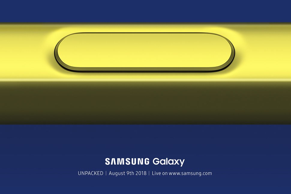 Samsung Galaxy Note 9 Coming in August