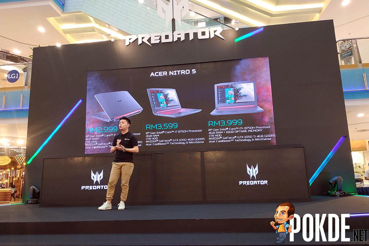 Acer updates Nitro series — new Nitro 5 and Nitro 50 gaming systems