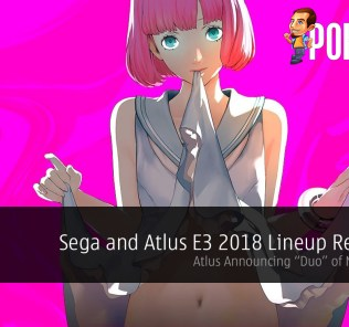 Sega and Atlus E3 2018 Lineup Revealed