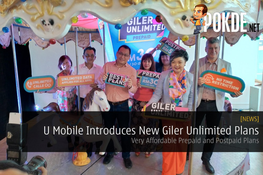 U Mobile Introduces New Giler Unlimited Plans - Very Affordable