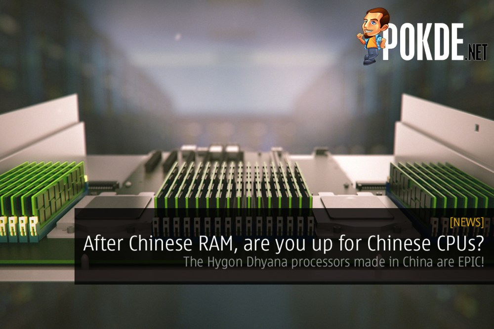 After Chinese RAM, are you up for Chinese CPUs? The Hygon Dhyana processors are EPIC! 23
