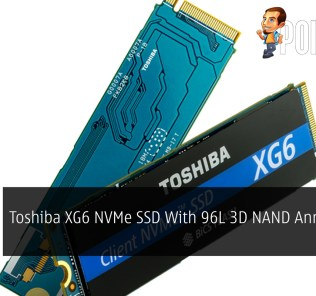 Toshiba XG6 NVMe SSD With 96L 3D NAND Announced 45