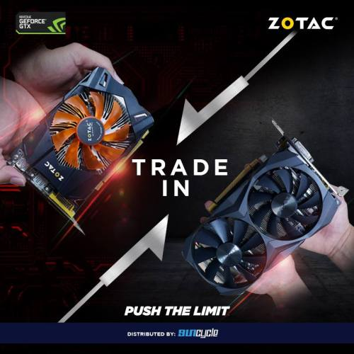 ZOTAC Malaysia Running Graphics Card Trade-In Program