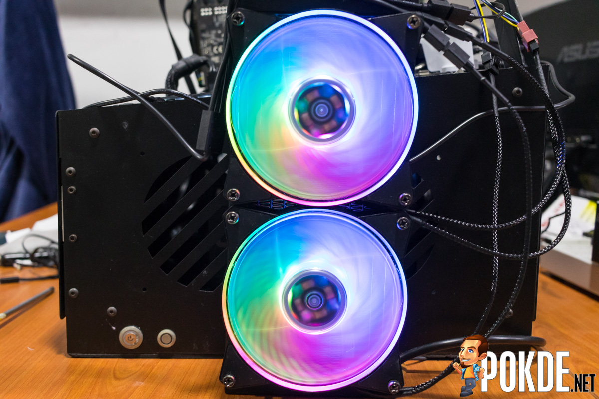 MasterLiquid ML240R RGB by Cooler Master Review — cooler than your