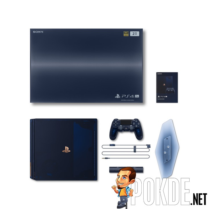 New PlayStation 4 Pro 500 Million Limited Edition Announced