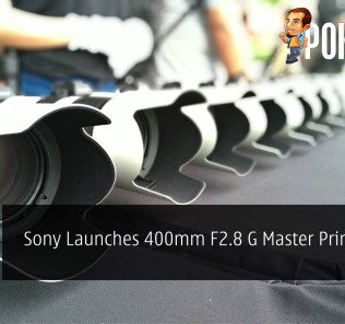 Sony Launches 400mm F2.8 G Master Prime Lens