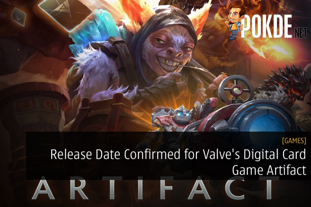 Release Date Confirmed for Valve's Digital Card Game Artifact
