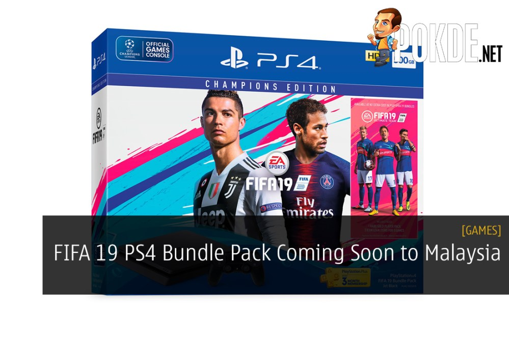 FIFA 19 PS4 Bundle Pack Coming Soon to Malaysia