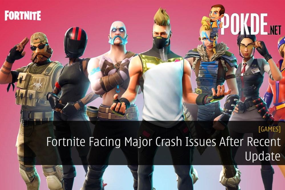 Fortnite Facing Major Crash Issues After Recent Update