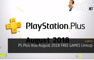 PS Plus Asia August 2018 FREE GAMES Lineup