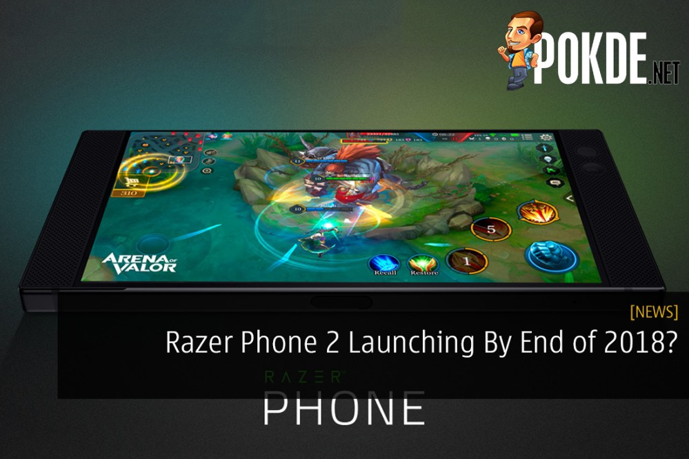 Razer Phone 2 Launching By End of 2018?