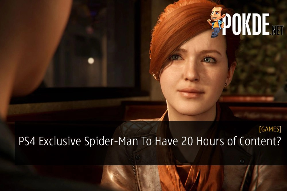 PS4 Exclusive Spider-Man To Have 20 Hours of Content?