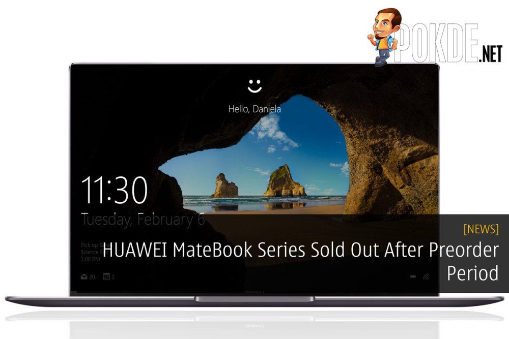 HUAWEI MateBook Series Sold Out After Preorder Period 16