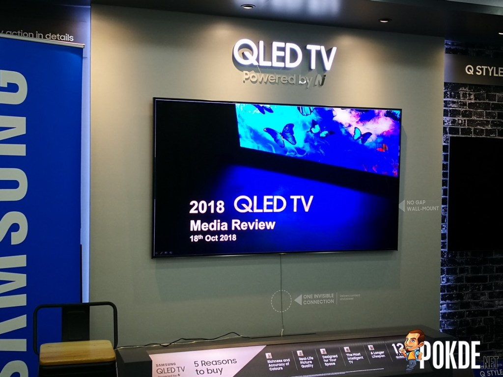 Hands-on: Samsung 2018 QLED TV and Harman Kardon Atmos Soundbar